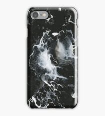 Black and White Water Marble iPhone Case/Skin