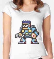 burst man Women's Fitted Scoop T-Shirt
