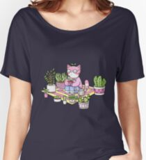 Cacti Meditation Women's Relaxed Fit T-Shirt