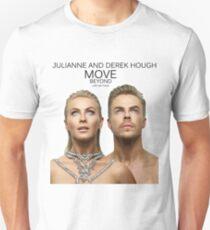 julianne and derek hough move beyond live on tour 2017 T-Shirt