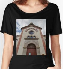 Synagogue of Bergheim Women's Relaxed Fit T-Shirt