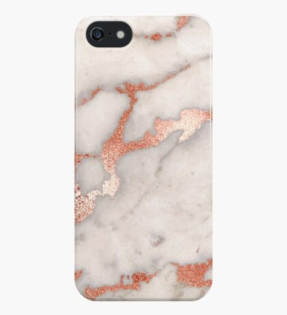 Rose gold marble phone case cover iPhone Case/Skin
