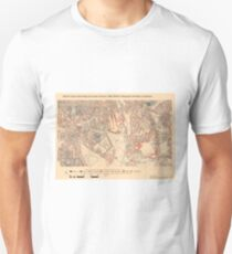 Booth's Map of London Poverty for Telegraph Hill ward, Lewisham Unisex T-Shirt