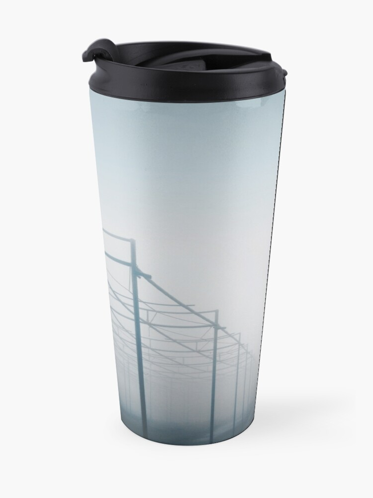 Alternate view of Where is everybody Travel Mug