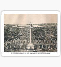 Baltimore - Maryland - 1880 Sticker