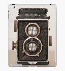 Vintage Rolleiflex Twin Lens camera iPad Case/Skin