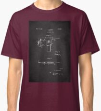 Vintage Firefighter Axe Patent 1925 Classic T-Shirt