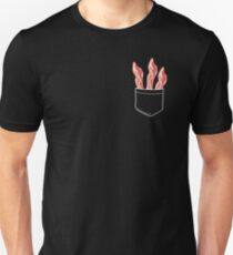 Bacon In Pocket Unisex T-Shirt