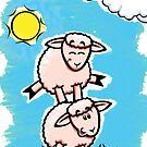 HeinyR- Sheep Friends by cadellin