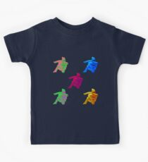 Statue Dabbing Multicolor Kids Clothes