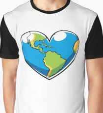 Ecology Concept Graphic T-Shirt