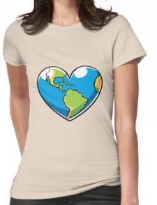 Ecology Concept Womens Fitted T-Shirt