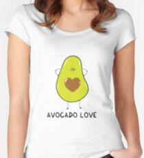 Avocado Love Women's Fitted Scoop T-Shirt