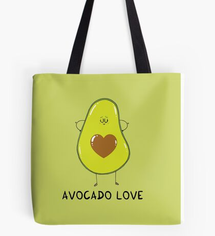 Avocado Love Tote Bag