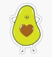 Avocado Love Sticker