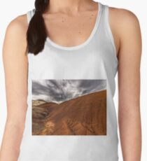 Red Hills and Gray Skies Women's Tank Top