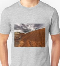 Red Hills and Gray Skies Unisex T-Shirt