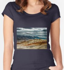 Painted Lanscape Women's Fitted Scoop T-Shirt