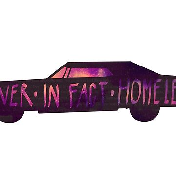 They were never, in fact, homeless - SPN STICKER/CASE by HizaChu