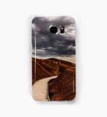 Walking the Red Hill Samsung Galaxy Case/Skin