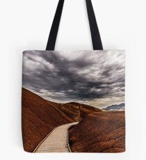 Walking the Red Hill Tote Bag