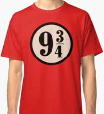 Platform nine and three quarters Classic T-Shirt
