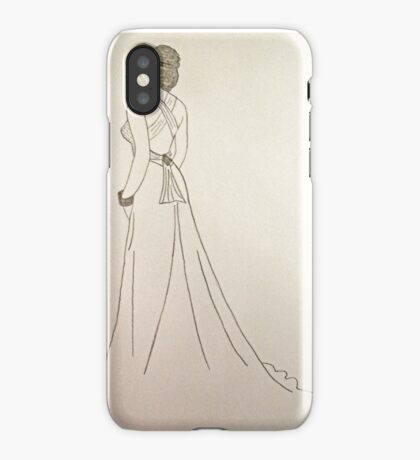Wedding Dress No 4 iPhone Case