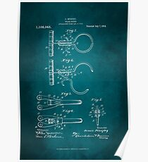 Police Nippers Patent 1914 Poster