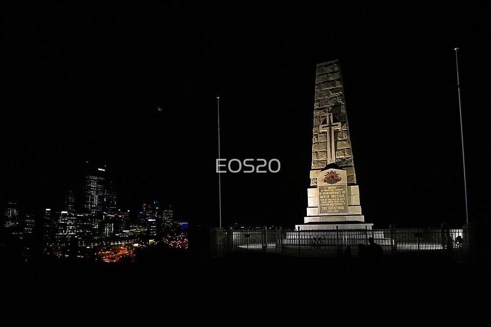 Lunar Eclipse - Perth, Western Australia by EOS20