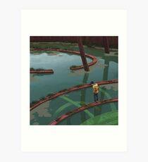 Vattenfyllt Bågrum Art Print
