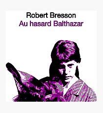 AU HASARD BALTHAZAR // ROBERT BRESSON (1966) Photographic Print