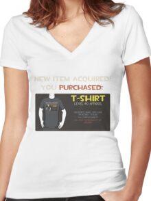 TF2 Item Shirt Women's Fitted V-Neck T-Shirt