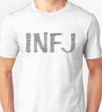 INFJ Descriptive Word Cloud Slim Fit T-Shirt