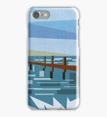 Looking at the sea (abstract) iPhone Case/Skin