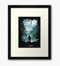 Uncharted  Framed Print