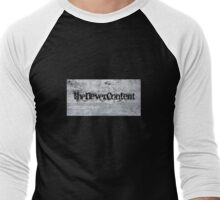 The Never Content (concrete) Men's Baseball ¾ T-Shirt
