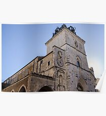 Streets of Italy - Guardiagrele Cathedral Poster