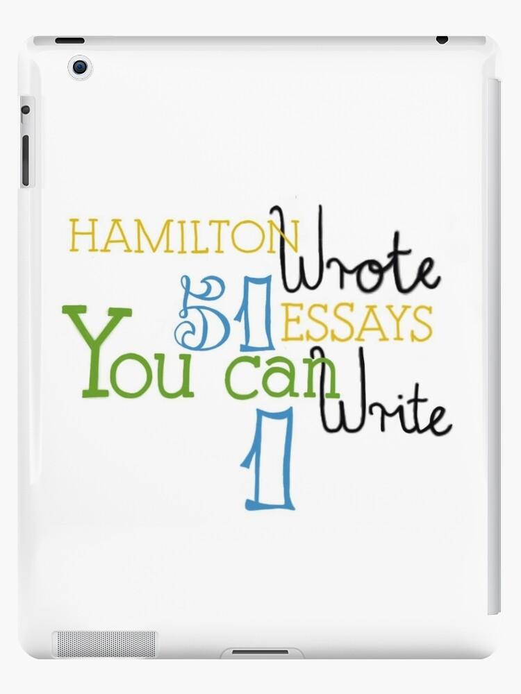 Hamilton Essays by Amber-anya