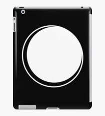 Minimalistic Eclipse - White Vers. iPad Case/Skin