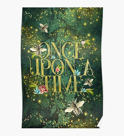 Bee Once Upon a Time Poster