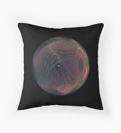 Questionable World Throw Pillow