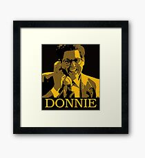 The Wolf Of Wall Street - Donnie Framed Print