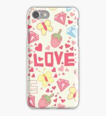 Funny love. iPhone Case/Skin