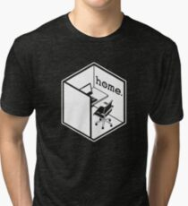 Cubicle Of Home Funny Tri-blend T-Shirt