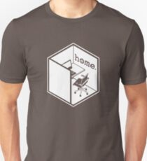 Cubicle Of Home Funny Unisex T-Shirt