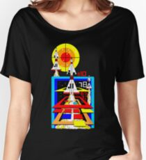 Retro Arcade Missile Command Women's Relaxed Fit T-Shirt