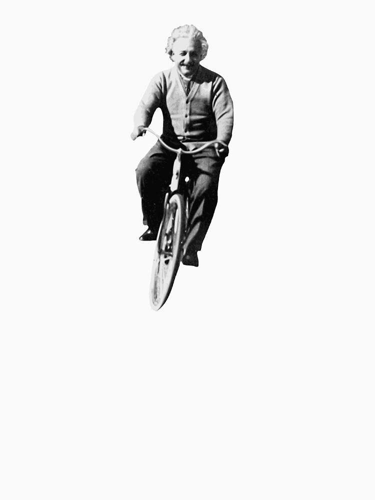 Albert Einstein on a Bike by TheShirtYurt