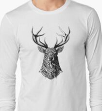 Ornate Buck Long Sleeve T-Shirt