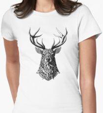 Camiseta entallada para mujer Dólar adornado