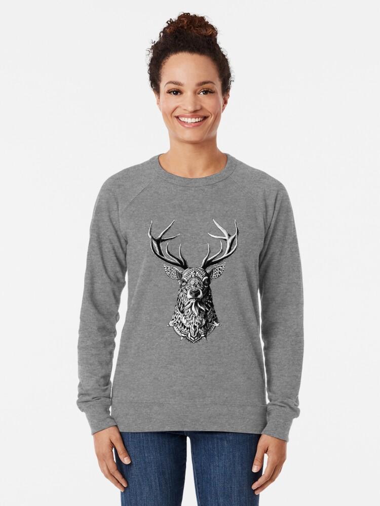Alternative Ansicht von Verzierter Buck Leichter Pullover